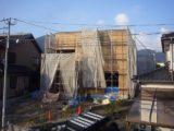 新築一戸建て建築現場